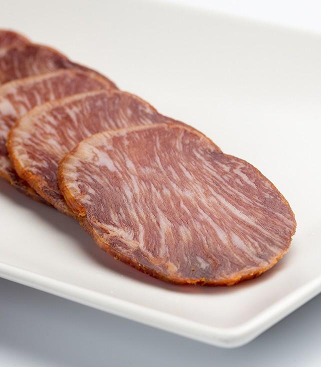 Corte lomo de bellota ibérico 50% raza ibérica