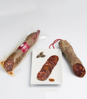 Chorizo cular ibérico de bellota  Tamaño-Medio