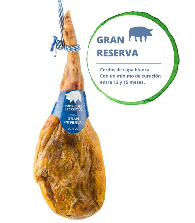 Jamón Gran Reserva 50% Duroc