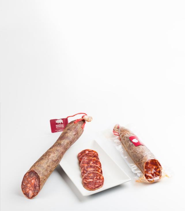 Chorizo cular ibérico Rodríguez Sacristán