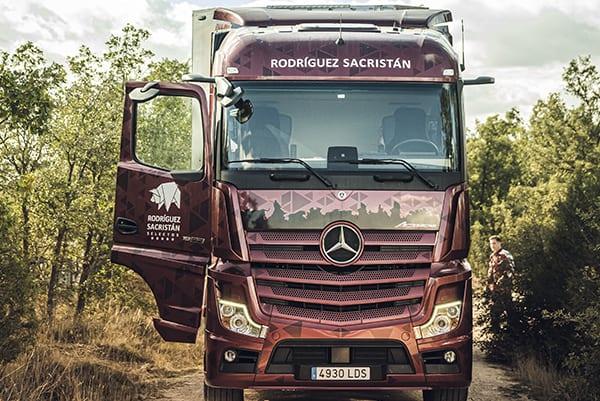 transporte de porcino Rodríguez Sacristán embutidos ibéricos Segovia