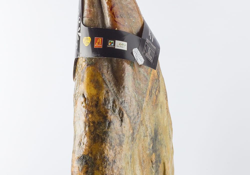 detalle jamón ibérico de bellota Rodríguez Sacristán embutidos ibéricos Segovia