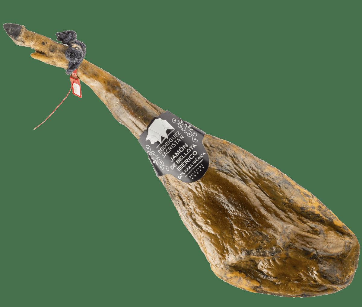 jamón ibérico de bellota Rodríguez Sacristán embutidos ibéricos Segovia