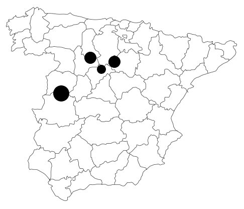 Granjas de Fondo lotes Rodríguez Sacristán embutidos ibéricos Segovia